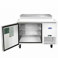 New 1 Door 44 Refrigerated Pizza Prep Table Cooler Nsf Atosa Mpf8201gr 2228