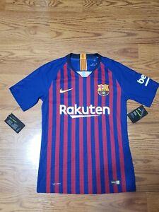 Nike Barcelona 18/19 Vaporknit Home Jersey 894417-456  Size Small $165 Retail