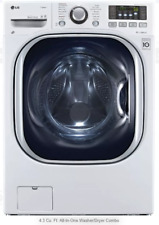 "LG 27"" Front Load Washer/Dryer Combo 4.3 cu. ft. 14 Wash Cycles WM3997HWA"