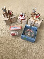 Vintage Schmid Kitty Cucumber lot of 5 items - New