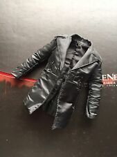Hot Toys 1/6 Scale Sweeney Todd Black Stripes Patterned Trench Coat 12 ""