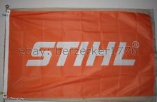 STIHL Chainsaws Chain Saws 3'x5' Orange Flag Banner Stihl - USA seller shipper