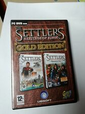 THE SETTLERS HERITAGE OF KINGS GOLD EDITION Gioco PC DVD Italiano Nuovo