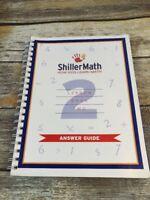 Shiller Math Lesson Book 2 Two Answer Guide Teacher Homeschool Montessori