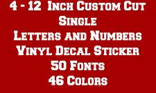 CUSTOM Letters & Numbers Vinyl Decal Sticker Car Truck Laptop Window Wall Window