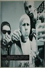 Beastie Boys Ill Communication Blowing Bubbles Black and White Poster 24 x 35