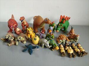 Deagostini Dinosaur & Friends - Prehistoric Animals & Cave Family Figure Bundle
