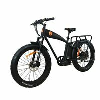 "Electric Bike Fat Tire E-cruiser Power bike1000w 14.5ah 26"" Ebike BEACH CRUISER"