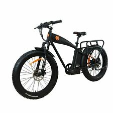 "E-Bike Fat Tire Electric cruiser Power bike1000w 14.5ah 26"" Rear Drive Ebike"