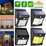 96LED Solar Wall Way Lamp Light PIR Motion Sensor Waterproof Garden Outdoor Yard