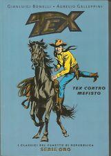 SERIE ORO Repubblica n° 2 - TEX contro Mefisto (2004) I Classici del Fumetto
