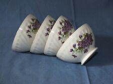 4 petits bols vintage décor Lilas