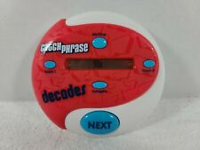 Catch Phrase Decades (2013) - Electronic Game by Hasbro -  Tested & Working