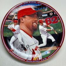 """Mark McGwire """"Record Breaker 9-8-98"""" The Bradford Exchange 8"""" Plate Collection"""