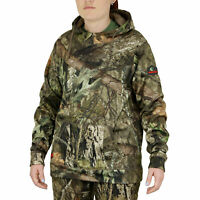 Mossy Oak Women's Camo Performance Fleece Hoodie, Camo Pullover for Women