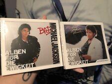 Michael Jackson BAD und Thriller zwei Alben Für Die Ewigkeit neu New No Promo