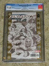 Ultimate Fantastic Four 30 CGC 9.8. Sketch cover. Marvel Zombies. Frightful Four