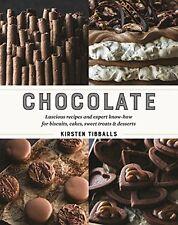 Chocolate New Hardcover Book Kirsten Tibballs