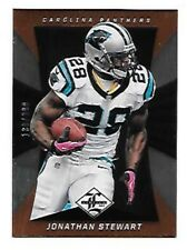 JONATHAN STEWART 2013 LIMITED #15 SERIAL #130/399 PANTHERS FREE COMBINED S/H