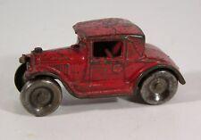 "1920s CAST IRON ARCADE COUPE CAR MODEL T FORD TOY AUTOMOBILE 4"" ORIGINAL PAINT"