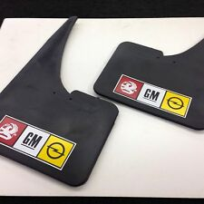 Vauxhall GM Opel Mudflaps + fittings pair NEW IN STOCK