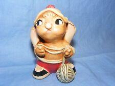 Pendelfin Rabbit Little Hero 2000 Collectors Club Joining Piece
