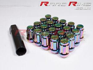 Azul de bloqueo Tuercas De Rueda X 4 12x1.5 encaja Mazda Mx3 Mx5 Mx6 Rx7 Rx8 3 6 5 Mps
