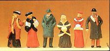 Passanten winterliche Kleidung Um 1900 Preiser 12197 Figuren Spur HO (16,5 mm)
