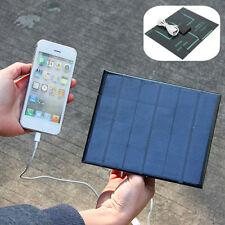 6V 3.5W USB POWER BANK SOLARE BATTETIR CARICABATTERIE UNIVERSALE SMARTPHONE