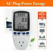 240v Power Meter Monitor Energy Consumption Watt Electricity Usage Tester W69
