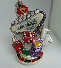 Christopher Radko 20th Anniversary Ornament Viva Las Vegas 1010974 2004 w/box