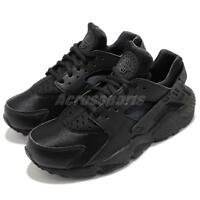 Nike Wmns Air Huarache Run Triple Black Women Running Shoes Sneakers 634835-012