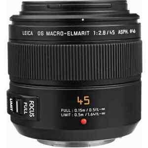 Panasonic Lumix Leica DG Macro-Elmarit 45mm f2.8 ASPH. Lens
