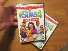 THE SIMS 4 CATS & DOGS PC MAC EXPANSION PACK DOWNLOAD NEW FACTORY SEALED