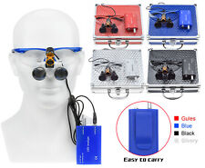 Dy 008 Dental 5w Led Surgical Headlight With Light Shield Shade25x420mm Loupes