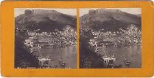 Monaco La Condamine Stéréo Photo Vintage argentique