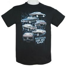 Dodge Charger, Plymouth Barracuda, Road Runner & Duster T-shirt 100% Cotton