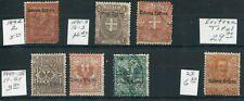 Weeda Eritrea #2/23 1892-1928 issues CV $29.70