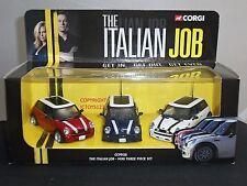 CORGI CC99138 ITALIAN JOB FILM MOVIE DIECAST MODEL MINI COOPER CAR SET
