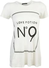 WILDFOX COUTURE CELEB CLASSIC LOVE POTION NO. 9 TEE T-SHIRT TOP XS 6 8 2 4 34 36