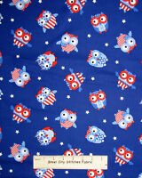 Patriotic US Flag Fabric ~ 100/% Cotton By The Yard ~ Timeless Treasures C2056