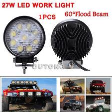 27W Flood LED Work Light Bar Offroad Boat Car Tractor Truck SUV Fog Lamp 1pcs
