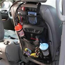 Car Back Seat Pocket-Storage Organizer Bag Black Books/Mobile/ Bottle Holder