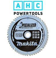 Makita B-62979 Efficut Scie plongeante sans fil TCT 165 mm x 20 mm x 25 T