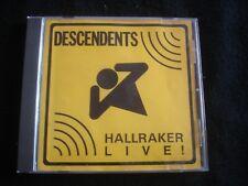 DESCENDENTS/HALLRAKER LIVE/CD POP 1987/SST/USA PRESS