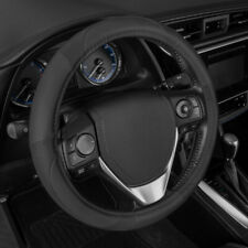 Motor Trend Ergonomic Grip Premium Leather Steering Wheel Cover Universal Fit
