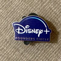 D23 Expo 2019 Disney Plus FOUNDERS CIRCLE Pin Disney+ Exclusive