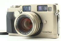 [Near Mint] Contax G2 Rangefinder film camera + Planar 45mm f/2 lens from Japan
