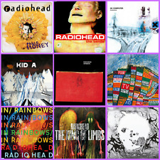 RADIOHEAD - COMPLETO STUDIO ALBUM SET / LOTTO - 9 x VINILE LP NUOVO