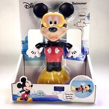 Disney Mickey Wind Up Water Swimmer New